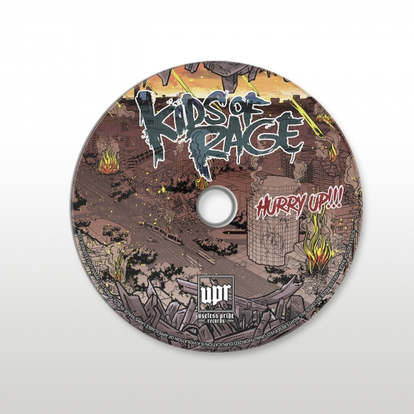 Il·lustracions LP de Kids Of Rage