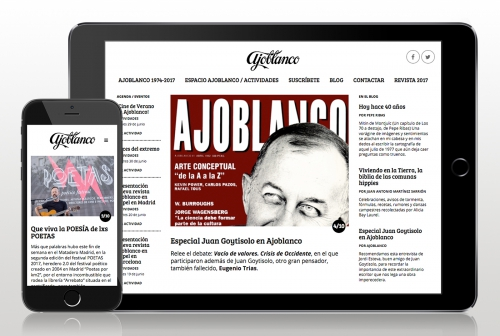 Web Ajoblanco 2.0