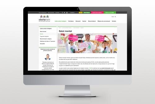 Diseño Web Obertament 2017